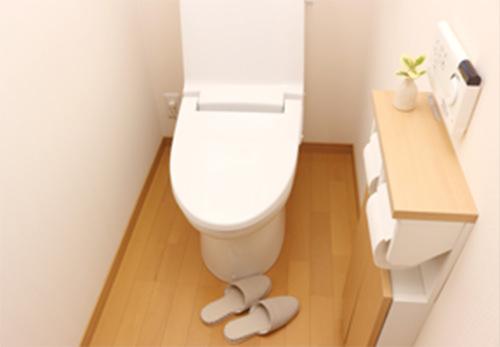 トイレの衛生管理に